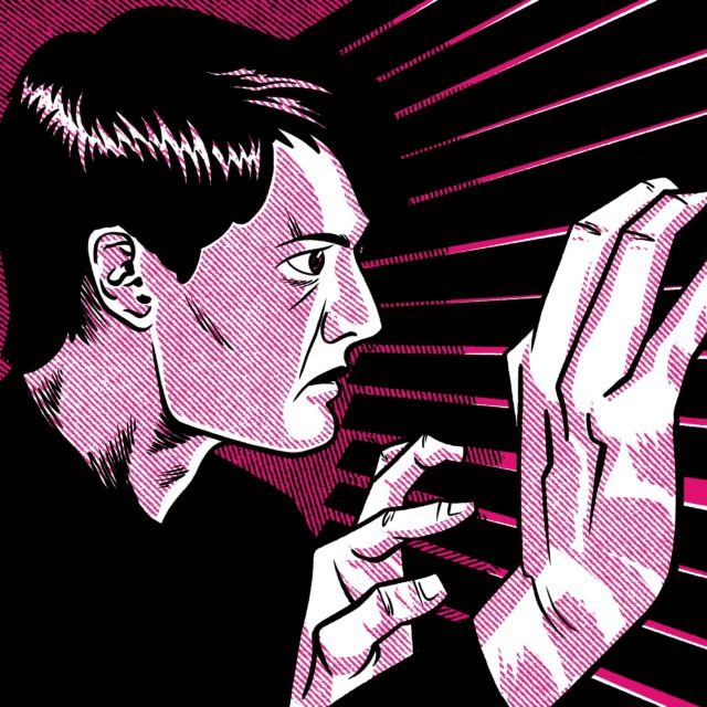 Illustration for blue velvet weird boners